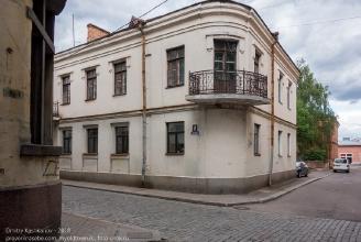 Выборг. Здание 1792 года. Перекресток Прогонной и Краснофлотской улиц