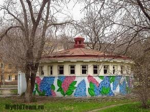 Граффити ''Сирень'' в Комсомольском саду. Фото Волгограда