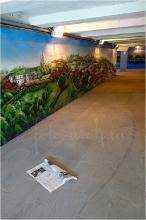 Фото граффити в подземном переходе. Пл. Минина. Нижний Новгород