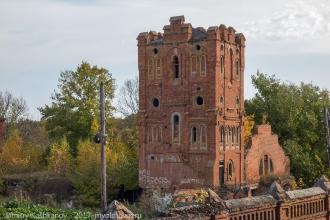 Усадьба Подвязье. Фото водонапорной башни