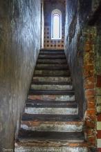 Водонапорная башня в Подвязье. Лестница на третий этаж