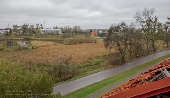 Фото из окна. Форбург замка Прёйсиш-Эйлау