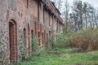 Форбург замка Прёйсиш-Эйлау. Багратионовск. Калининградская область