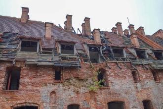Форбург замка Прёйсиш-Эйлау. Калининградская область. Багратионовск