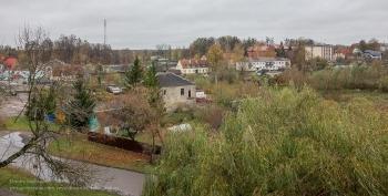 Багратионовск. Форбург замка Прёйсиш-Эйлау. Вид из окна
