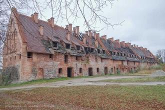 Багратионовск. Форбург замка Прёйсиш-Эйлау. Вид от Софийской церкви