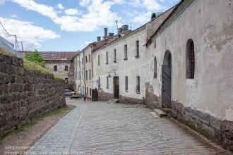 Выборгский замок. Террритория