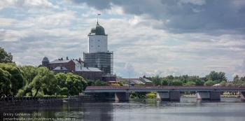 Выборгский замок. Вид с рыночной площади
