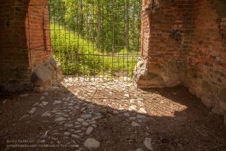 Замок Гросс Вонсдорф. Внутри башни Канта