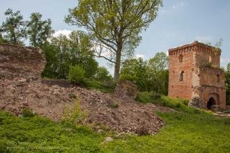 Башня Канта и развалины замка Грос Вонсдорф. Поселок Курортное