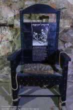 Орудия пыток. Кресло допроса с шипами