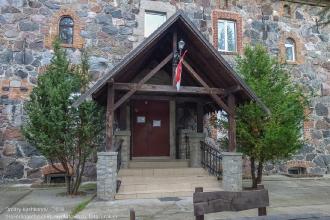 Янтарный замок. Вход в музей