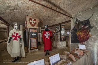 Подвал средневекового рыцарского замка