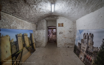 Янтарный замок. Подвал. Фото старинных замков