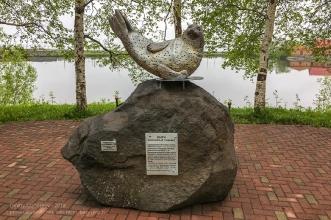 Ларга. Пятнистый тюлень. Установлен на улице Набережной у Култучного озера. Петропавловск-Камчатский