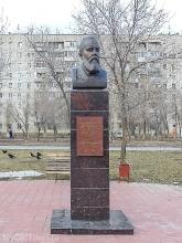 Памятный бюст Василию Лапшину. Фото Волгограда