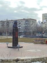 Памятный бюст Никите Бекетову. Фото Волгограда