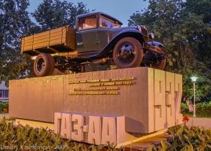 Памятники - автомобили, танки, катера