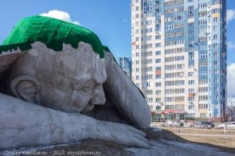 Скульптура Эрвина Херве-Лоранта.