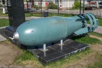 Макет атомной бомбы РДС-4. Фото. Город Бор