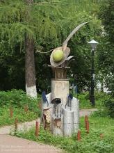 Памятник ложке в Нижнем Новгороде