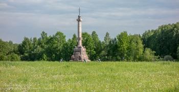 Памятник батарейной №1 и легкой №1 ротам лейб-гвардии Артиллерийской бригады. Установлен в 1912 году