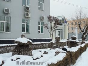 Сквер на Коммунистической. Зимнее фото. Волгоград