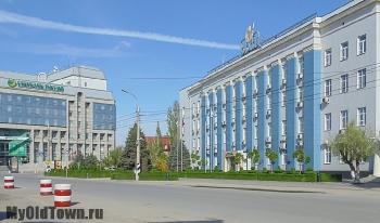 Улица Коммунистическая. Весна 2016 года. Фото Волгограда