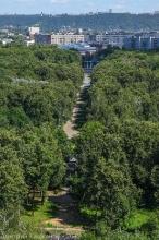 Фото Автозаводского парка. Главная аллея. Главный вход