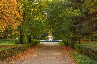 Старый  фонтан. Автозаводский парк Нижнего Новгорода. Фото 214 года