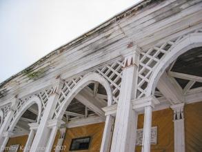 Кинотеатр Родина в Автозаводском парке. Фото 2007 года