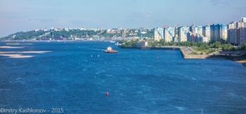 Река Волга, Микрорайон Седьмое небо и Кремль