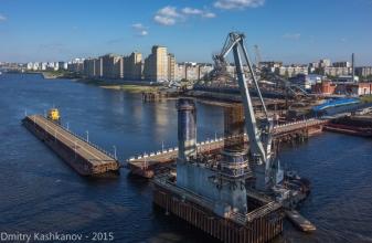 Строительство нового Борского моста