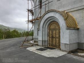 Петропавловск-Камчатский. Морской собор. Временный вход