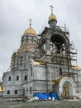Начинается отделка фасадов Морского собора в Петропавловске-Камчатском