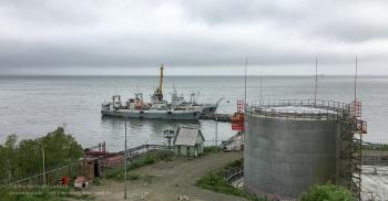 Вид от Морского собора Петропавловска-Камчатского. Авачинская бухта