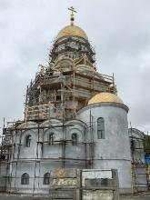 Строительство Морского собора в Петропавловске-Камчатском