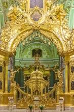 Алтарь с Царскими вратами. Петропавловский собор