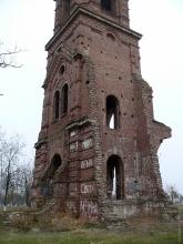 Разрушенный храм Святого Николая Чудотворца. Станица Темижбекская. Краснодарский край