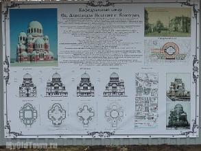Собор Александра Невского в Волгограде. Фото информации о соборе
