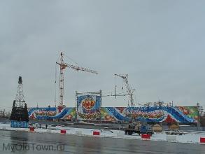 Собор Александра Невского в Волгограде. Декабрь 2016 года