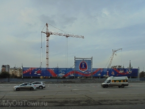 Собор Александра Невского в Волгограде. Ноябрь 2016 года