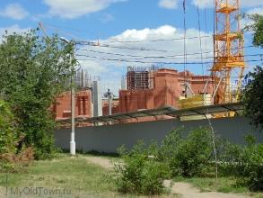 Собор Александра Невского в Волгограде. Июнь 2017 года