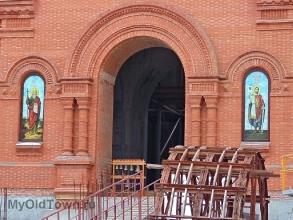 Собор Александра Невского в Волгограде. Декабрь 2018 года