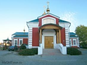 Вход в церковь Параскевы Пятницы. Фото Волгограда