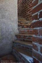 Правдинск. Георгиевская церковь. Лестница на колокольню