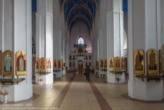 Правдинск. Георгиевская церковь. Главный зал