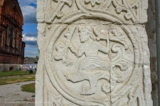Фрагмент оформления стен Георгиевского собора. Юрьев-Польский
