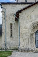 Георгиевский собор в Юрьеве-Польском. Фрагмент резьбы по камню на северном портале