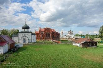 Георгиевский собор. Вид с земляного вала